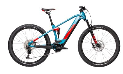 Elektro bicykel Cube Stereo Hybrid 120 Race 625 blue-red 2021