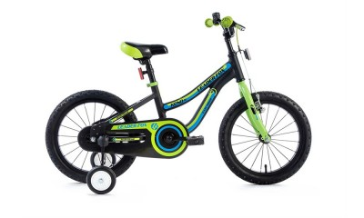 Bicykel Leader Fox Keno 16 black 2018