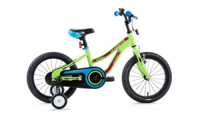 Bicykel Leader Fox Keno 16 green 2018