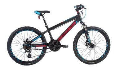 Bicykel Leader Fox Eager black 2018