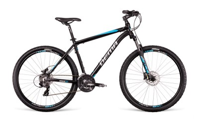 Bicykel Dema Pegas 5.0 black-blue 2018
