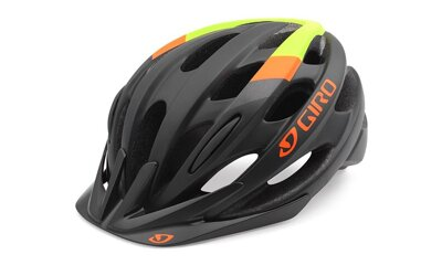 Prilba Giro Revel matt black-lime flame