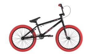 Bicykel Haro Downtown black-red 2016