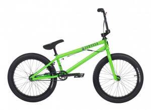Bicykel Subrosa Salvador Park satin neon green 2018