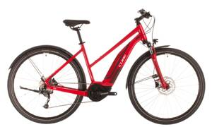 Elektro bicykel Cube Nature Hybrid One Allroad 500 trapeze red 2020