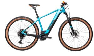 Elektro bicykel Cube Reaction Hybrid Pro 625 petrol-orange 2021