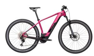 Elektro bicykel Cube Reaction Hybrid Race 625 berry-black 2021