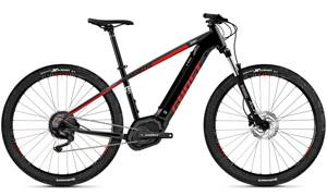 Elektro bicykel Ghost Hyb Teru PT B3.9 black-red 2019