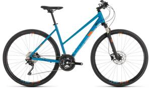 Bicykel Cube Cross Pro Lady blue 2019
