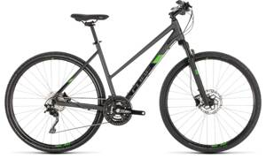 Bicykel Cube Cross Pro Lady iridium 2019