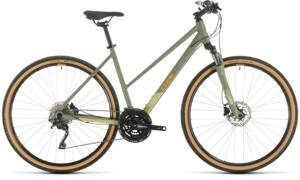 Bicykel Cube Nature EXC Lady green 2020