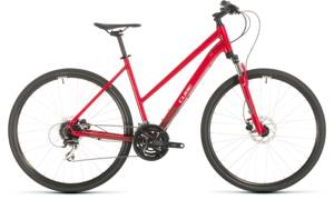 Bicykel Cube Nature Lady red 2020