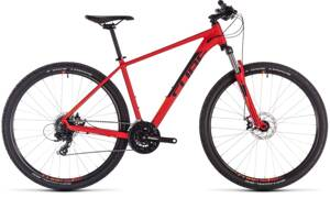 Bicykel Cube Aim 29 red 2019
