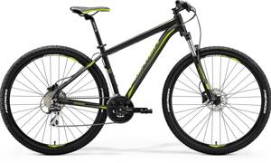 Bicykel Merida Big Nine 20-D black 2018