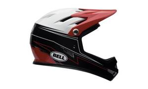 Prilba Bell Sanction graphite-red